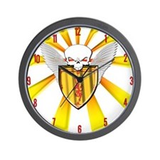 Royal Scottish Defender Wall Clock