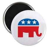 "Republican Elephant Logo 2.25"" Magnet (100 pack)"