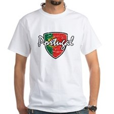 Portuguese distressed Flag Shirt