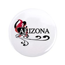 "Heart Arizona 3.5"" Button (100 pack)"