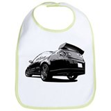 Black Cobalt SS Bib