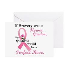 Bravery A Flower Garden 1 (Grandma) Greeting Card