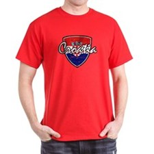 Croatian football shield T-Shirt