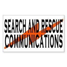 SAR COMM 2 Rectangle Decal