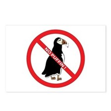 No Puffin Postcards (Package of 8)