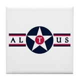 Altus Air Force Base Tile Coaster