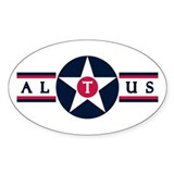 Altus Air Force Base Oval Decal