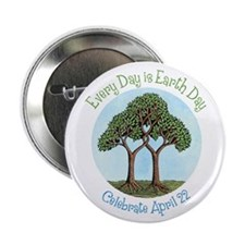 "Celebrate Earth Day 2.25"" Button"