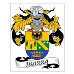 Ibarra Family Crest Small Poster