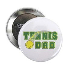 "Tennis Dad 2.25"" Button"