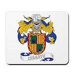 Iriarte Family Crest Mousepad