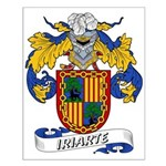 Iriarte Family Crest Small Poster