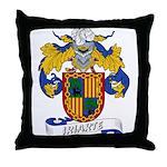 Iriarte Family Crest Throw Pillow