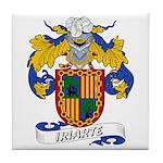 Iriarte Family Crest Tile Coaster
