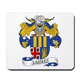 Jaimes Family Crest Mousepad