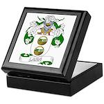 Lara Family Crest Keepsake Box