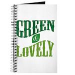 Earth Day : Green & Lovely Journal