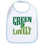 Earth Day : Green & Lovely Bib