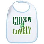 Earth Day : Green & Lovely Bib
