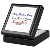 My Petite Foot Keepsake Box