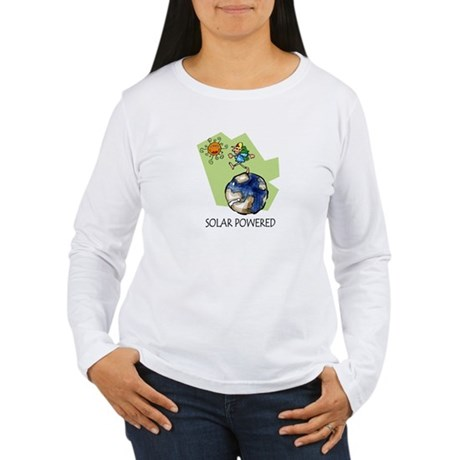 Solar Powered Women's Long Sleeve T-Shirt