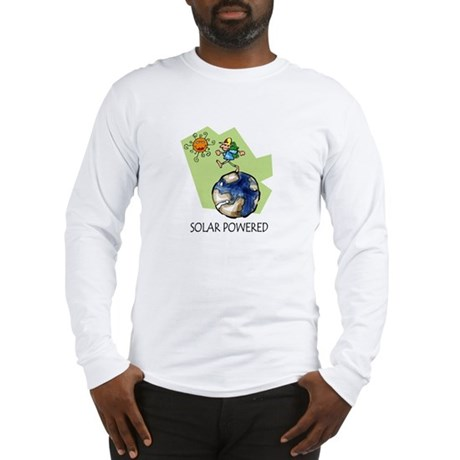 Solar Powered Long Sleeve T-Shirt