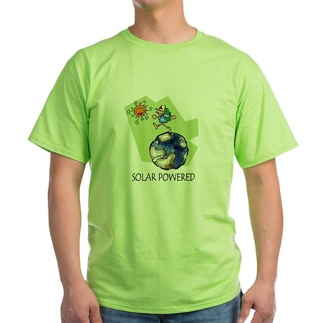 Solar Powered Green T-Shirt