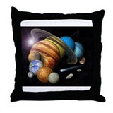 Space 8 Throw Pillow