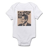 My enemies list Onesie