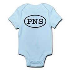 PNS Oval Infant Bodysuit