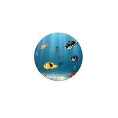 Oceans Of Fish Mini Button (10 pack)