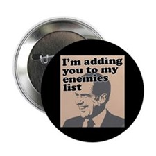 "My enemies list 2.25"" Button (100 pack)"