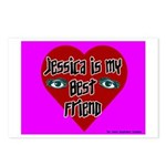 Jessica Is My Best Friend Postcards (Package of 8)