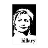 Hillary Clinton Rectangle Decal