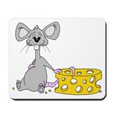 Cartoon Mouserat Mousepad