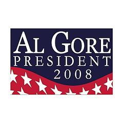 Al Gore for President (11x17 poster)