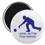 "Obama Bowling 2.25"" Magnet (100 pack)"