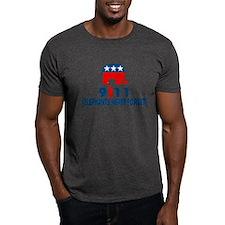 Elephants never fogret.9/11 T-Shirt
