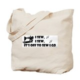 I Sew, I Sew Tote Bag