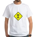 Baby On Board - Future Felter White T-Shirt