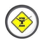Baby On Board - Future Felter Wall Clock