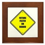 Baby On Board - Future Felter Framed Tile
