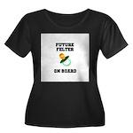 Future Felter On Board Women's Plus Size Scoop Nec