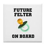 Future Felter On Board Tile Coaster