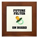 Future Felter On Board Framed Tile