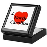 I Love N. Carolina! Keepsake Box