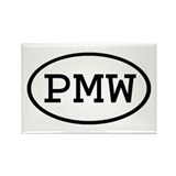 PMW Oval Rectangle Magnet