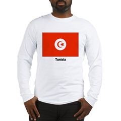 Tunisia Tunisian Flag Long Sleeve T-Shirt
