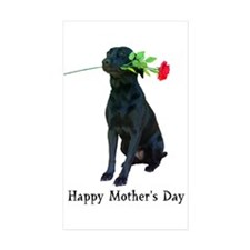mother's day Rectangle Sticker 10 pk)