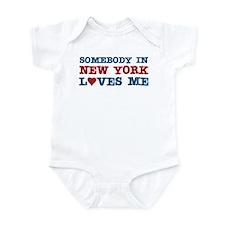 Somebody in New York Loves Me Infant Bodysuit
